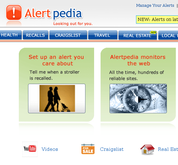 alertpedia11   AlertPedia: Create Category Wise Email Alerts For Free