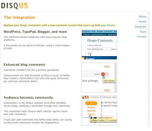 3 Commenting Systems and 3 Apps to Track Blog Comments disqus1