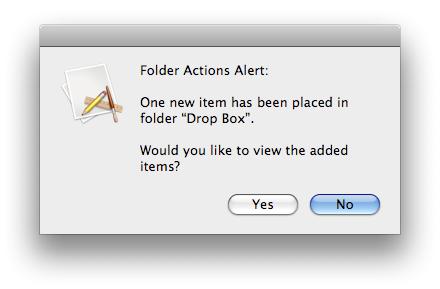 Establish File-Sharing & Notifications Between Networked Macs folder alert notification