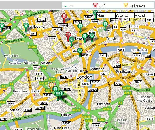 free wifi hotspot locator