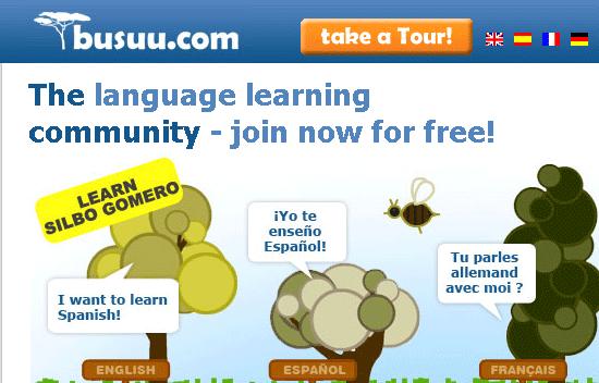 language learning community