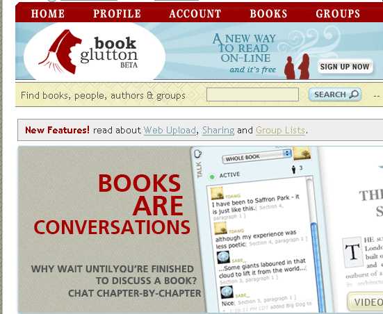 read books on the web