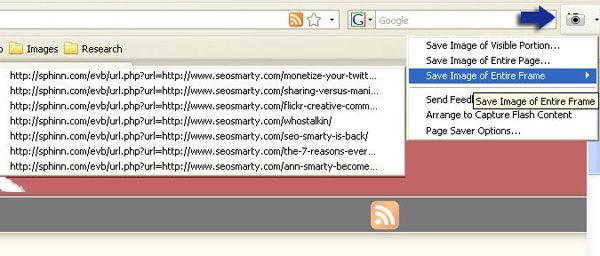Page Saver - full page screenshot firefox