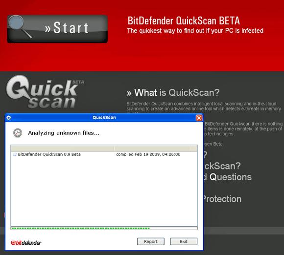 quick online antivirus