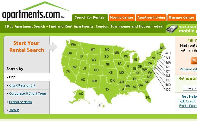 Delightful Top 5 U.S. Apartment Search Engines Rental6