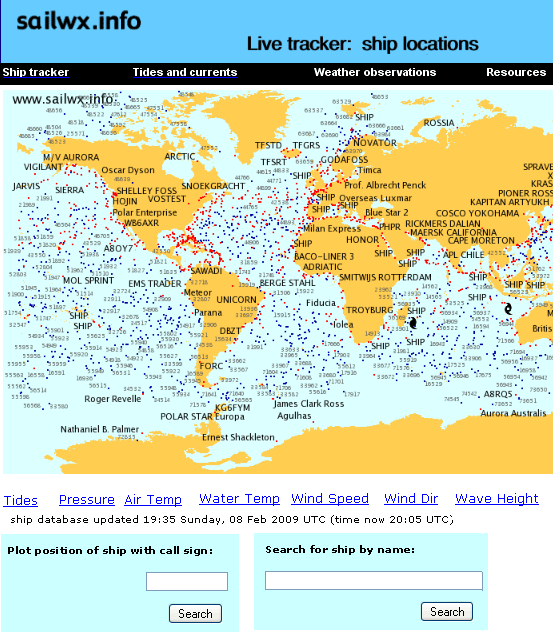 real time ship tracking