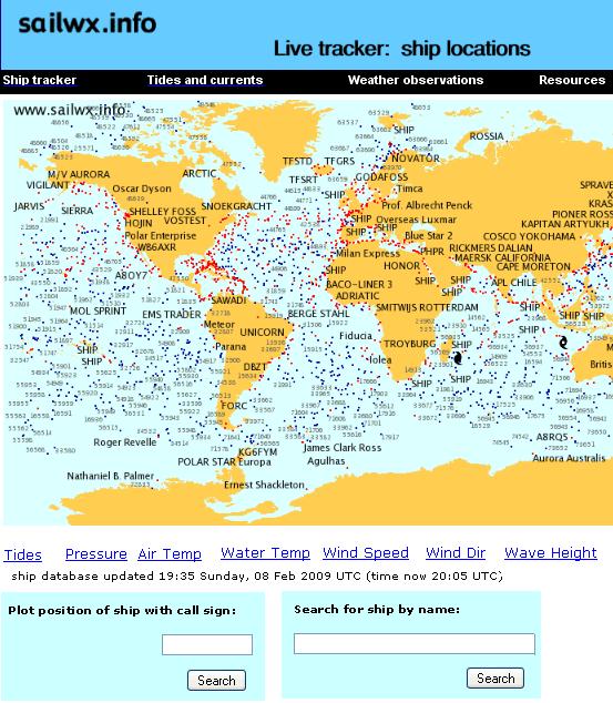 sailwx   Sailwx: Real Time Ship Tracking