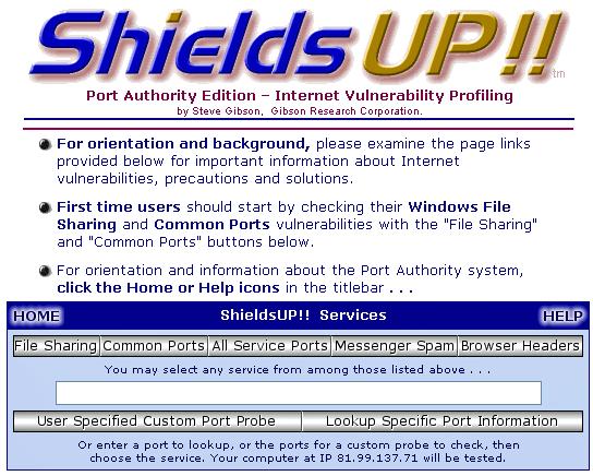 firewall vulnerability test