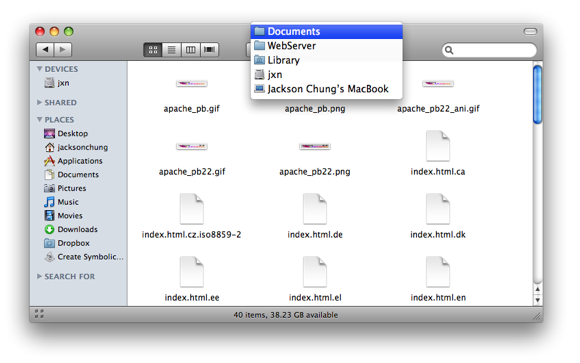 Stream Your iTunes Library to iPhone Over the Web [Mac] webserver directory