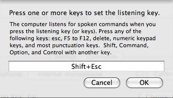 How To Use Speech Commands on Your Mac 04 set the shortcut key