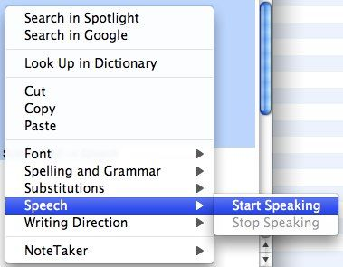 How To Use Speech Commands on Your Mac 07 speech start speaking
