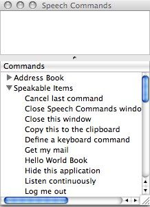 How To Use Speech Commands on Your Mac 09 speech command window