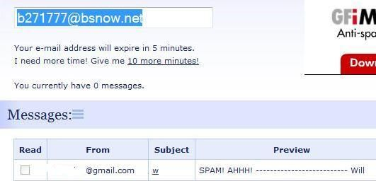 five free temporary email services to avoid spam