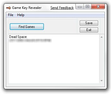 How To Recover Your Lost Video Game Keys (Windows) 25 03 2009 20 01 37