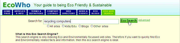 10 Search Engines to Help the Environment ecowho