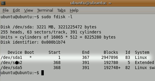How To Reset Any Linux Password fdisk