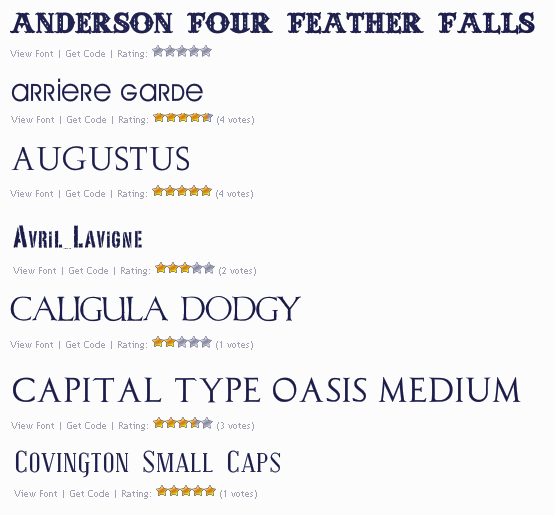 add fonts to website