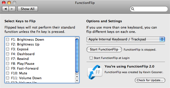 mac function keys changed
