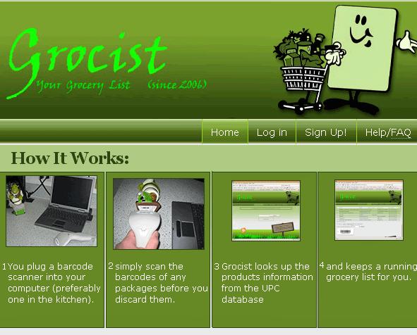 grocery list creator