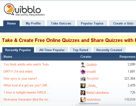 image1106   Quibblo: Create & Take Fun Quizzes And Surveys