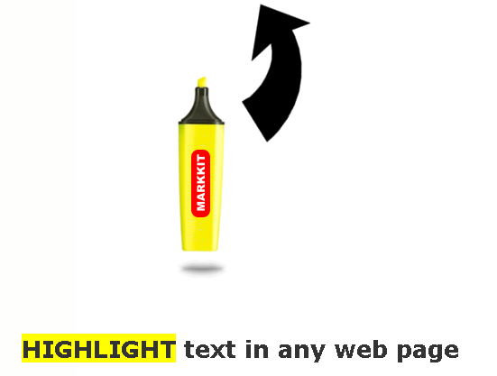 highlighting text in pages