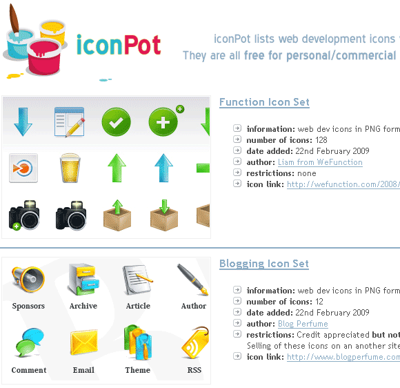 cool icon collection