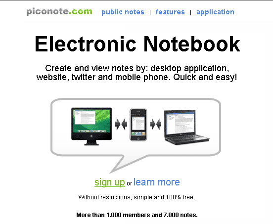 image141   PicoNote: Offline & Online Note Taking Program