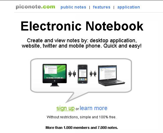image141   PicoNote: Offline & Online Note Taking Program