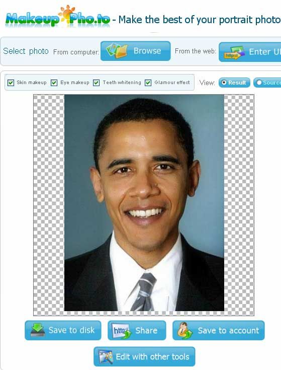 Makeup Online Photo Enhancer