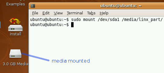 How To Reset Any Linux Password mount