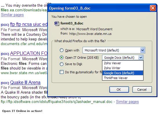 open it online   OpenItOnline: Open Files Online