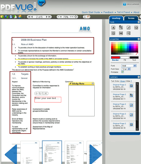 pdfvue1   PDFVue: Tool For Editing PDF Files Online