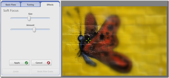 how to remove blur from a photo in picasa