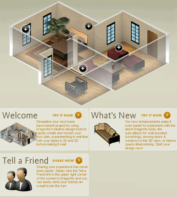 projectdragonfly   ProjectDragonfly: Design 3D Floor Plans Online