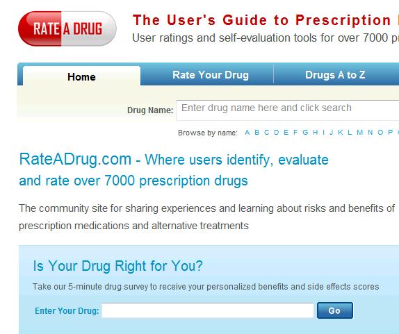 prescription drugs side effects