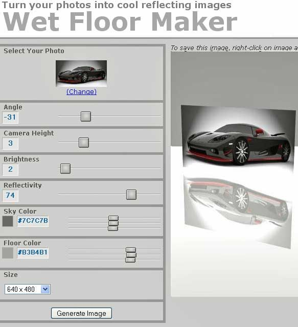 ref   WetFloorMaker: Add Reflection To Image