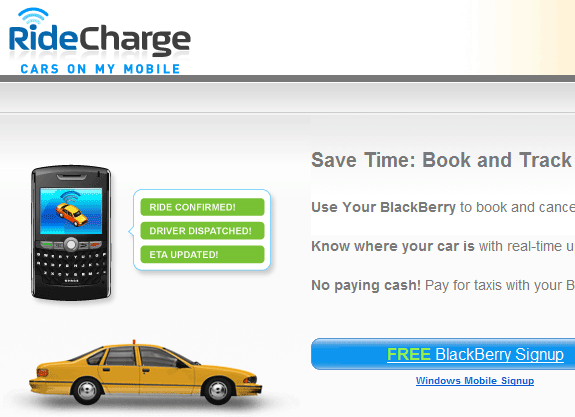 online taxi booking