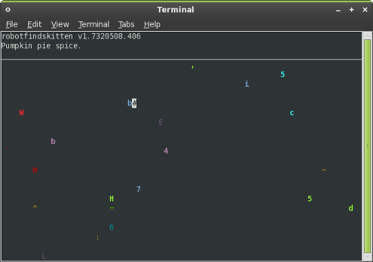 Play Games Inside Your Linux Terminal robot