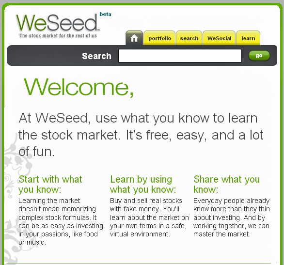learn the stock market free