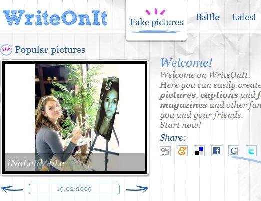 create fake photos