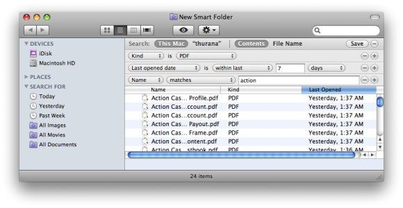 Simple Ways To Organize Your Files In Mac 02 smart folder rules