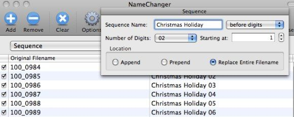 Batch Rename Your Files Easily - Mac Style (Mac Only) 04 sequence