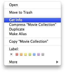 Simple Ways To Organize Your Files In Mac 05 get info