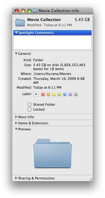 Simple Ways To Organize Your Files In Mac 06 file info window