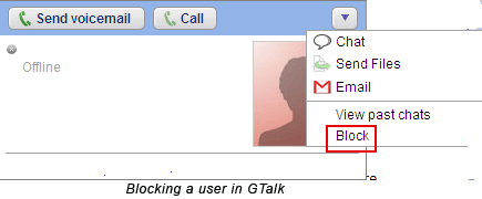 Instant Messenger Hacks: 10 Security Tips to Protect Yourself block gtalk