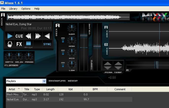 Rock On With Free Mixxx Music Mixing Software collusion interface1c