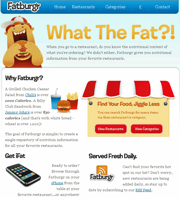 fast food nutritional guide