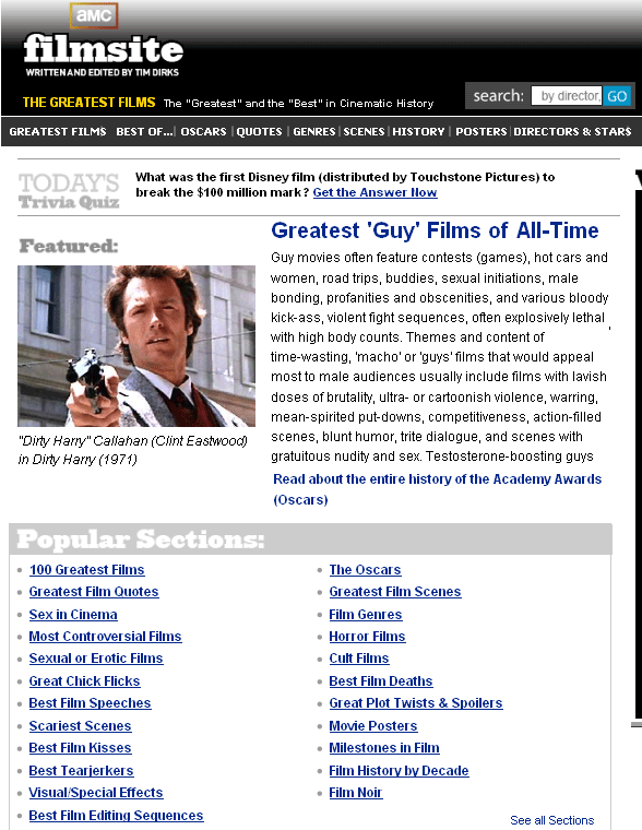 movie related sites