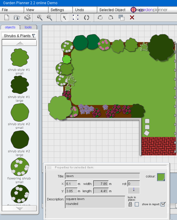 Garden design plans online pdf for Garden design 3d online