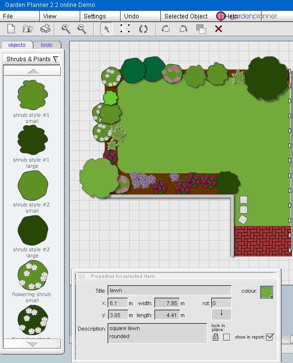 garden planning and design